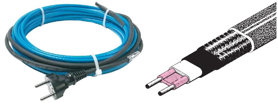 Силиконовые нагревательные кабели