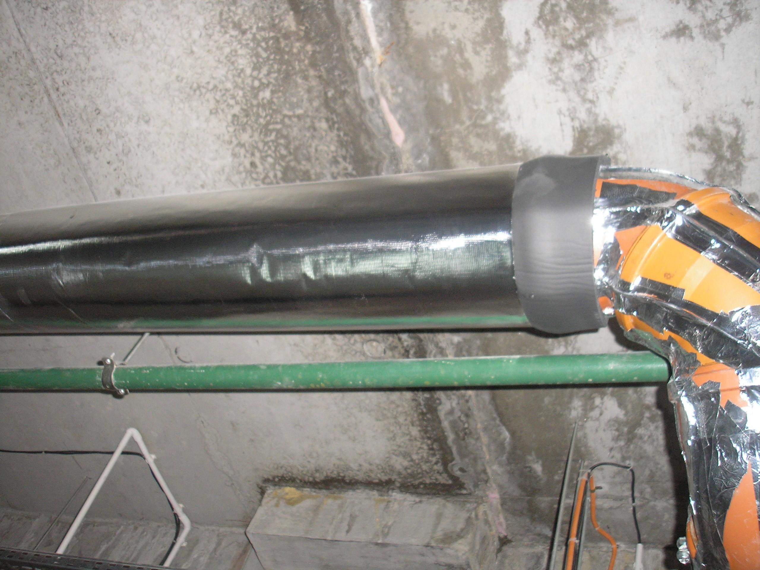 Нагревательные кабели в трубах