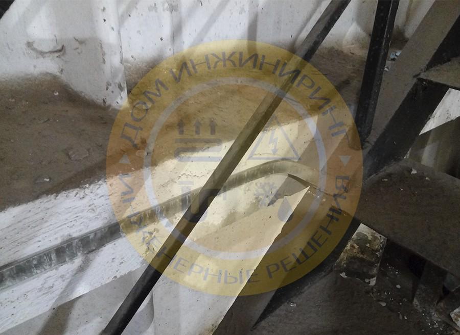 Молниезащита котельной в городе Киеве по ул. Васильковской (Фото 5).