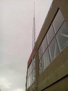 Активная молниезащита промышленного здания
