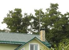 Активный молниеприёмник на крыше