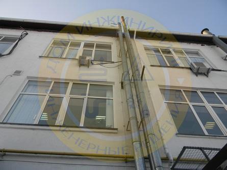 Пассивная молниезащита здания