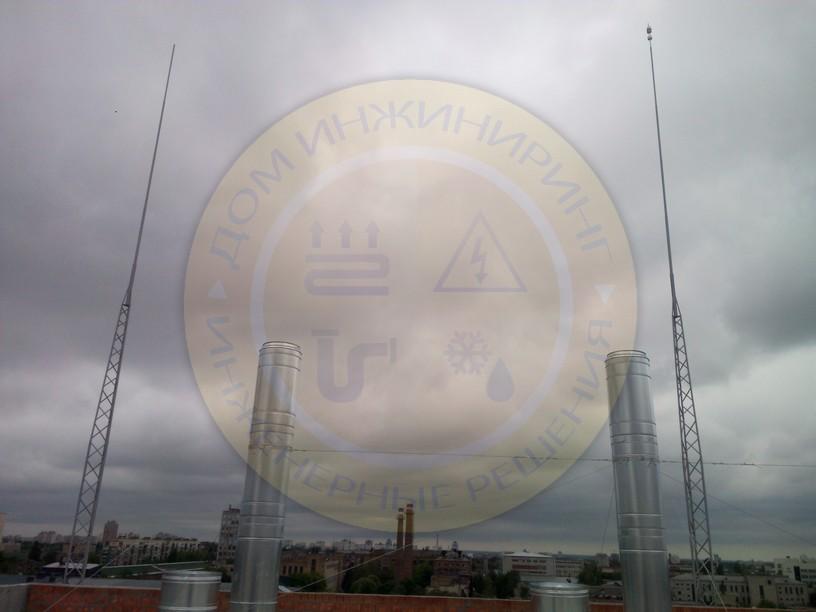 Проектирования и монтаж системы молниезащиты офисного центра