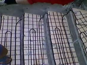 Антиобледенение, установка на грунте