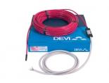 Укладання нагрівального кабелю для підігріву підлоги Deviflex