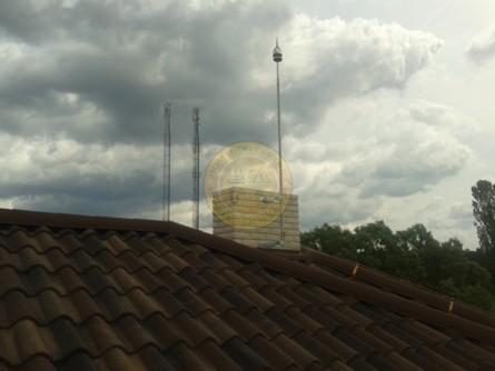 Проектирования и монтаж активной системы молниезащиты на новом коттедже г. Киев