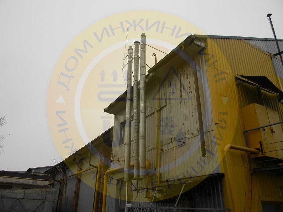 Пасивна система блискавкозахисту газового обладнання на котеджі