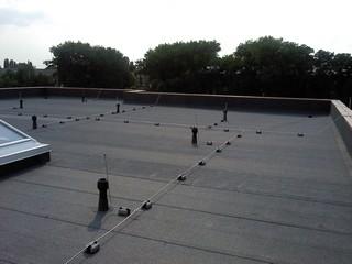 Пассивная молниезащита административного здания