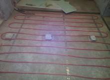 Обогрев в бетонной стяжке DEVIflex